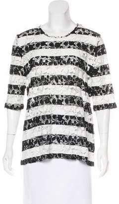 Roseanna Crocheted Striped Top