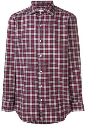 Finamore 1925 Napoli plaid checked shirt