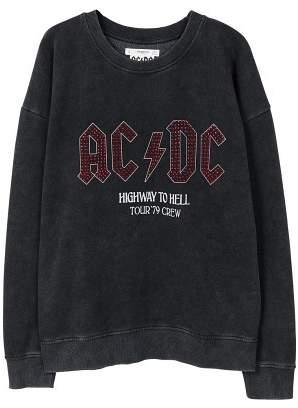 MANGO AC/DC sweatshirt
