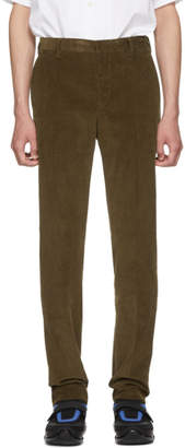Prada Brown Corduroy Trousers