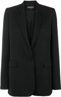 Ann Demeulemeester classic lapel blazer