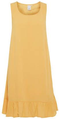 Ichi Marrakech Ruffle Trim A-Line Dress