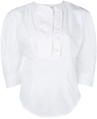Stella McCartney statement sleeve blouse