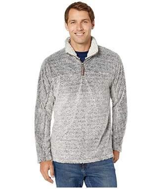 True Grit Vintage Tipped Sherpa 1/4 Zip Pullover