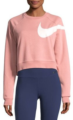 Nike Dry Versa Long-Sleeve Training Top $65 thestylecure.com