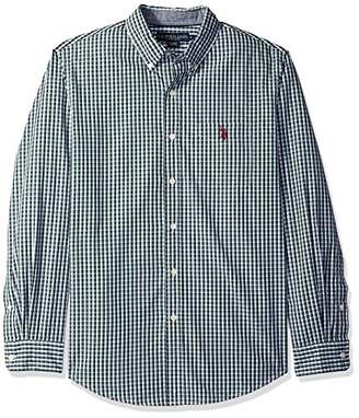 U.S. Polo Assn. Men's Long Sleeve Classic Fit Plaid Shirt