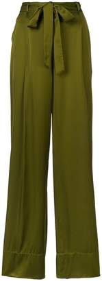 Josie Natori wide leg trousers