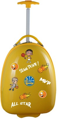 Youth Golden State Warriors Wheeled Pod Luggage