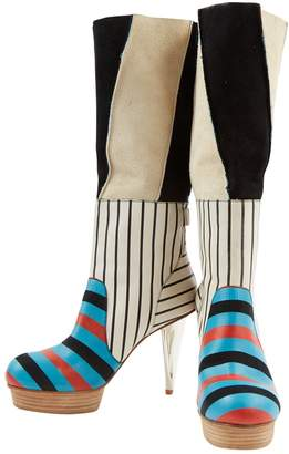 Camper Multicolour Leather Boots