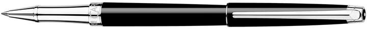 Léman Slim Ebony Rollerball Pen, Black