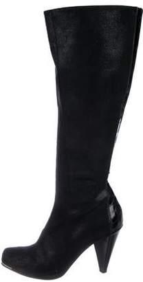 Donald J Pliner Suede Knee-High Boots