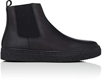 Barneys New York Men's Leather Chelsea Sneakers