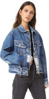 One Teaspoon Vintage Denim Jacket $240 thestylecure.com