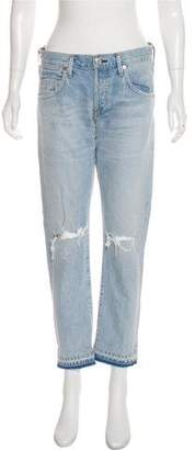 Citizens of Humanity Mid-Rise Straight-Leg Jeans w/ Tags