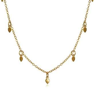 Satya Jewelry Plate Lotus Petals Choker Necklace