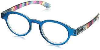 Peepers Unisex-Adult Bright Eyed 406250 Round Reading Glasses