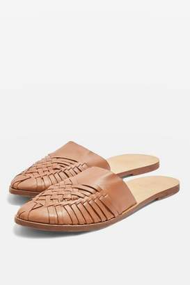 Topshop Amie Woven Mules