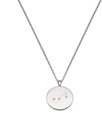 Harry Rocks - Scorpio Constellation Silver & Diamond Necklace