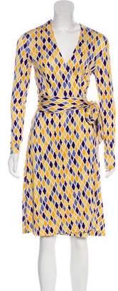 Diane von Furstenberg Knee-Length Wrap Dress