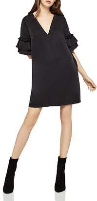 BCBGeneration Tassel-Trim Shift Dress