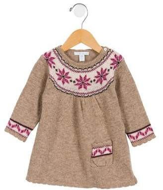 Marie Chantal Girls' Wool Fair Isle Dress