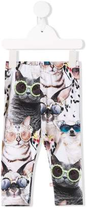 Molo Cat print leggings