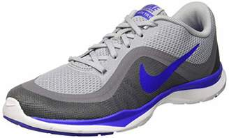 big sale aef7a dcdb8 Nike Women s WMNS Flex Trainer 6 Fitness Shoes, (Wolf Paramount Blue Cool  Grey