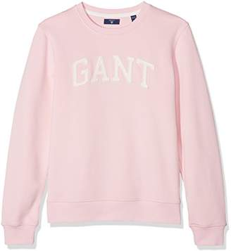 Gant Girl's Crew Sweat Jumper,(Manufacturer Size: 158/164)