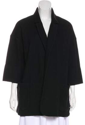 Burberry Cashmere Open Front Cardigan