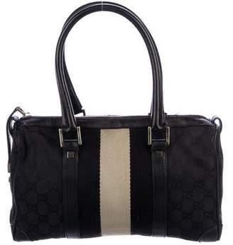 Gucci Medium Web Boston Bag