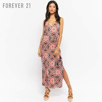 Forever 21 (フォーエバー 21) - Forever 21 ペーズリーロングワンピース