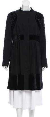 Rue Du Mail Wool Knee-Length Dress w/ Tags