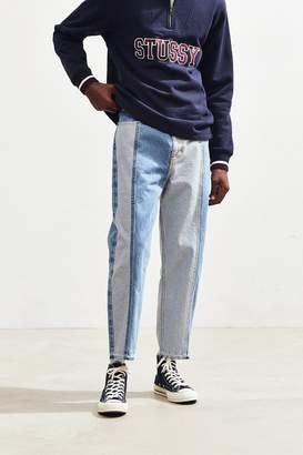 BDG Vertical Panel Straight Cropped Jean