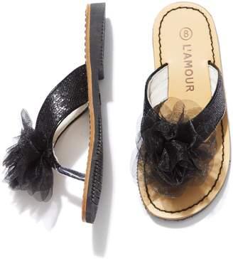 L'Amour & Angel Dazzle Thong Sandal