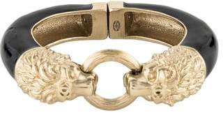 Chanel Double Lion Head Bracelet