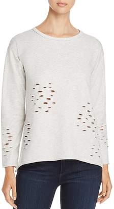 Design History Distressed Sweatshirt