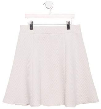 Little Remix Girls' Flared Chevron Print Skirt