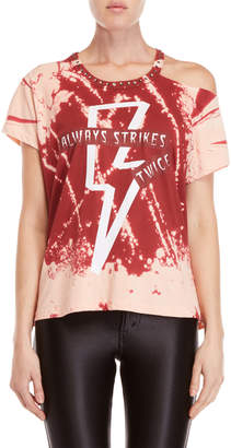 Religion Lightning Cutout Graphic Tee