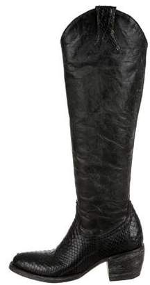 Old Gringo Python Knee-High Boots