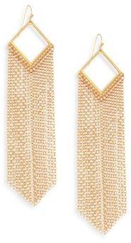 Ettika Fringed Drop Earrings $45 thestylecure.com