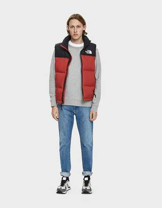 The North Face Black Box 1996 RTO Nuptse Down Vest in TNF Red