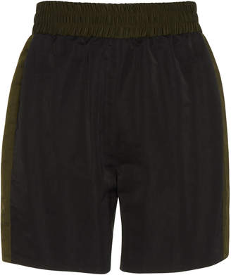 Maison Margiela Paneled Shell Shorts