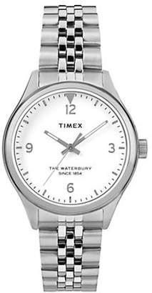 Timex BOUTIQUE Analog Waterbury Stainless Steel Bracelet Watch