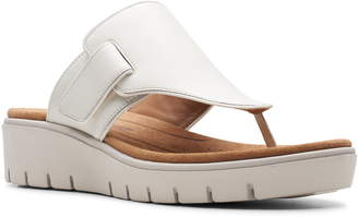 ad5d36656f9 Clarks White Slide Women s Sandals - ShopStyle