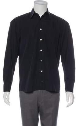 Dolce & Gabbana Pinstriped Button-Up Shirt