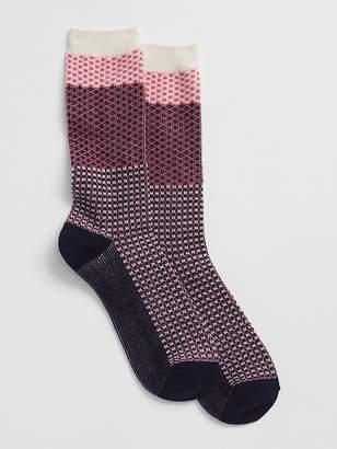 Gap Budding Colorblock Boot Socks
