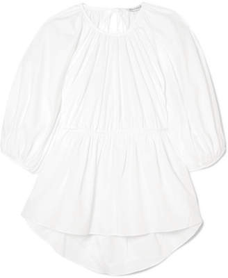 Cecilie Bahnsen Signe Open-back Cotton Top