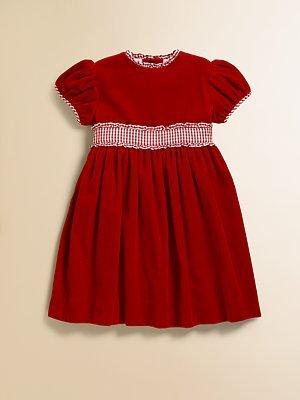 Papo d'Anjo Toddler's & Little Girl's Velvet Dress