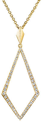 She Adorns Diamond Kite Pendant Necklace