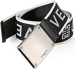 Givenchy Men's Plate Buckle Belt